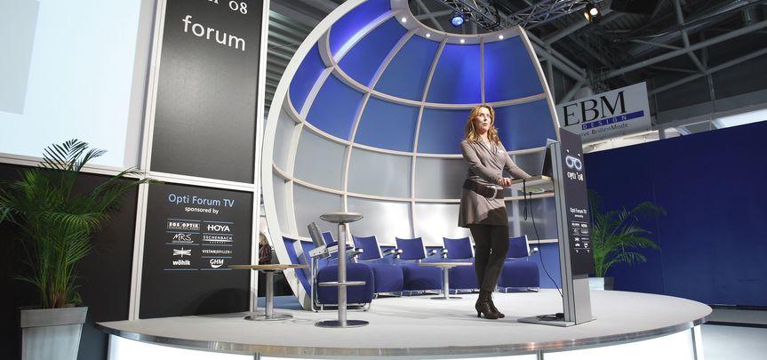 Bühne Opti Forum München - Ver...