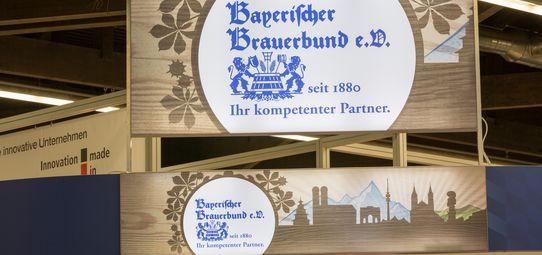 Messestand Bayerischer Brauerb...