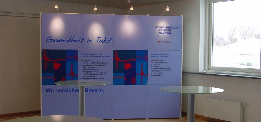 KVF Messebau Faltwandsystem - ...