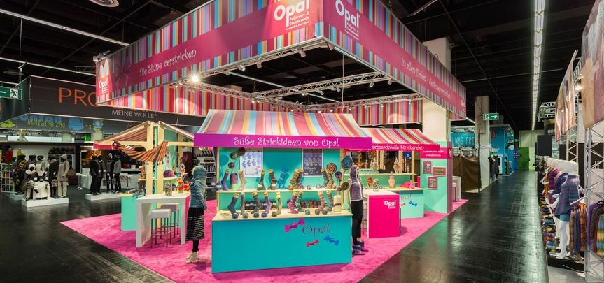 Messestand Tutto Opal - Handwerk+Hobby - Messebau