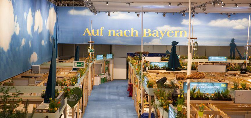 Messestand StMELF - Grüne Woche Berlin - Messebau