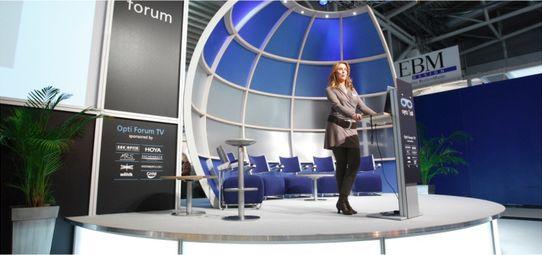 Bühne Opti Forum München - Veranstaltungsbau