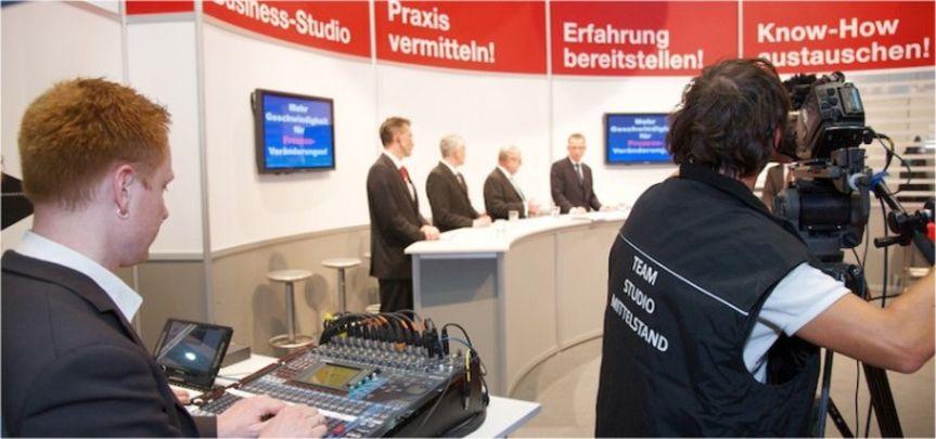 Cebit Studio Mittelstand - Veranstaltungsbau