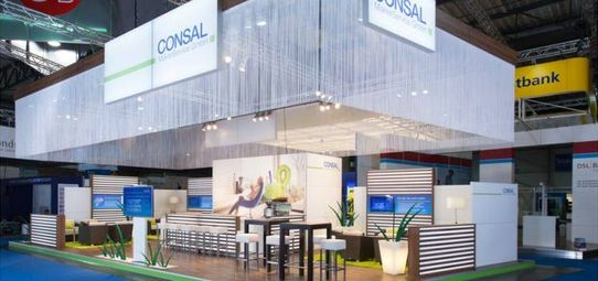 Messestand Consal Maklerservice - Messebau