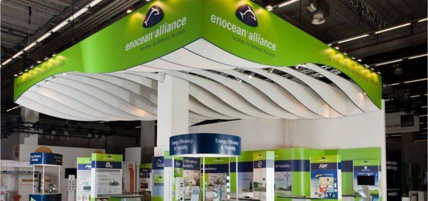 Messestand EnOcean Alliance - Messebau