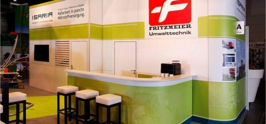 Messestand Fritzmeier Umwelttechnik - Messebau