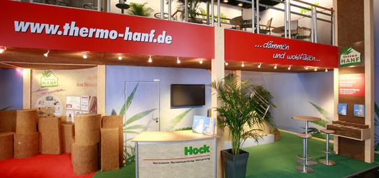 Messestand Hock Thermo Hanf - Messebau