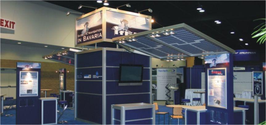 Messestand Invest in Bavaria San Diego - Messebau