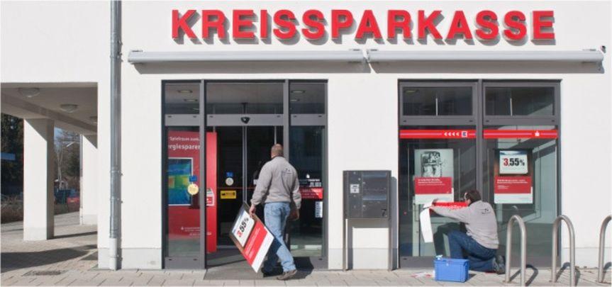 KSKMSE Geschäftsstellennetz - Dekorationsservice