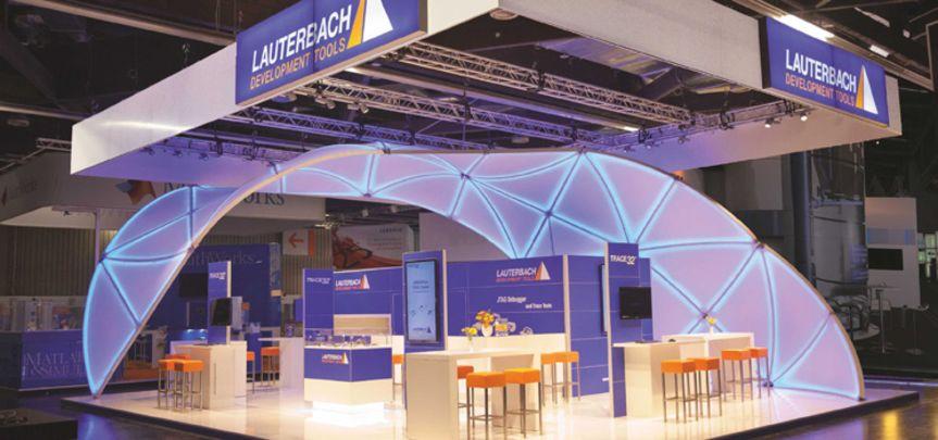 Messestand Lauterbach - Messebau