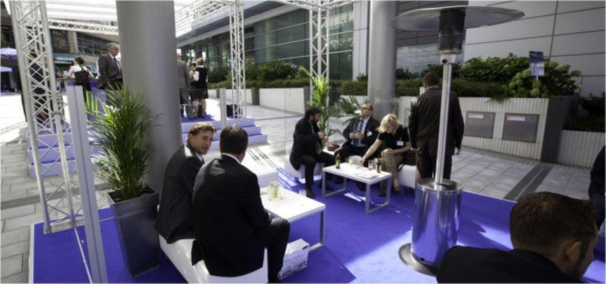 Lounge Versicherungskammer Bayern - Veranstaltungsbau