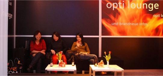 Messe Lounge Opti München - Veranstaltungsbau