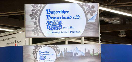 Messestand Bayerischer Brauerbung - Messebau