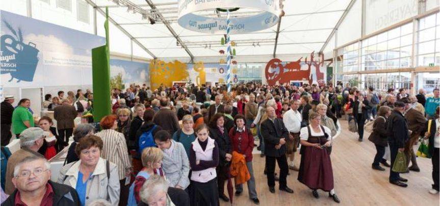 Messestand Bayerisches Landwirtschaftsministerium - Messebau