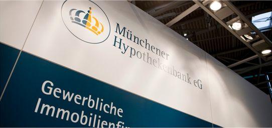 Messestand Münchner Hypothekenbank - Messebau