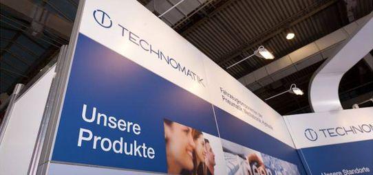 Messestand Technomatik IAA Nutzfahrzeuge - Messebau