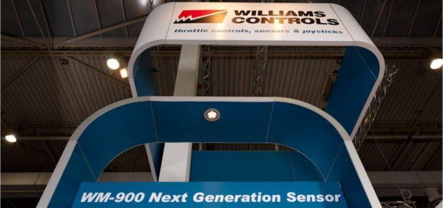 Messestand Williams Controls IAA Nutzfahrzeuge - Messebau
