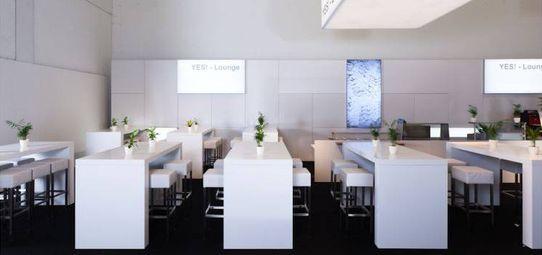 YES Lounge Opti Messe München - Veranstaltungsbau