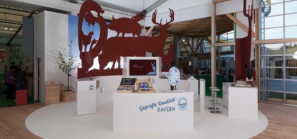 StMELF - Projekt - Messebau in München